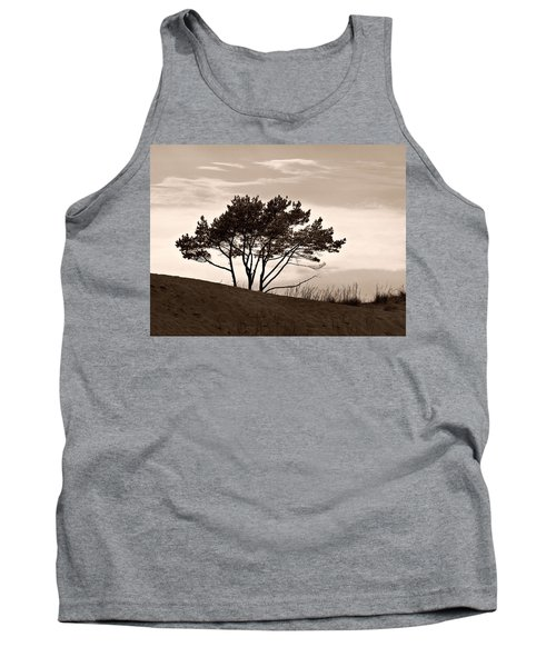 Tank Top featuring the photograph Yyteri Evening by Jouko Lehto