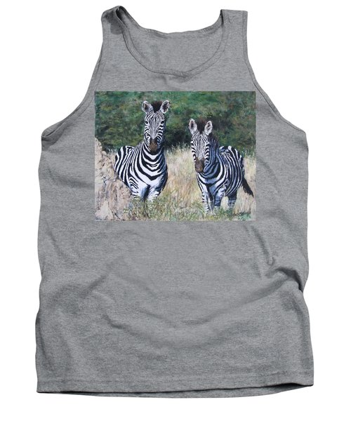 Zebras In South Africa Tank Top