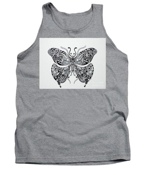 Zen Butterfly Tank Top