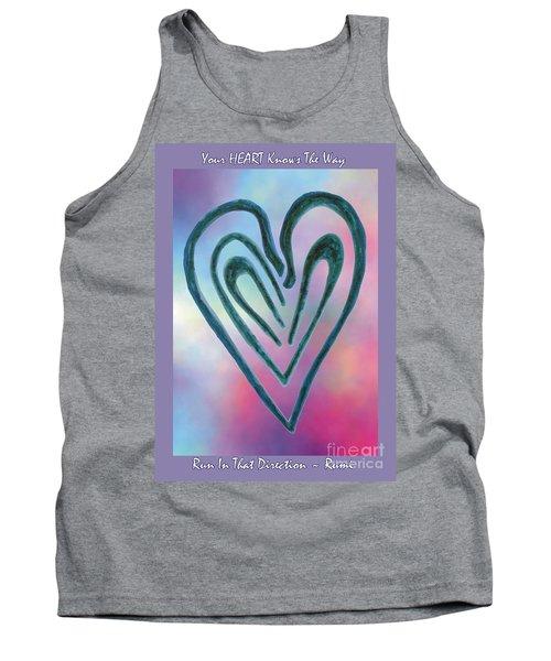 Zen Heart Labyrinth Tank Top