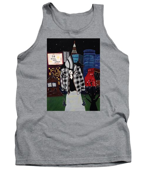 Zero And Under Goes To Tokyo Tank Top