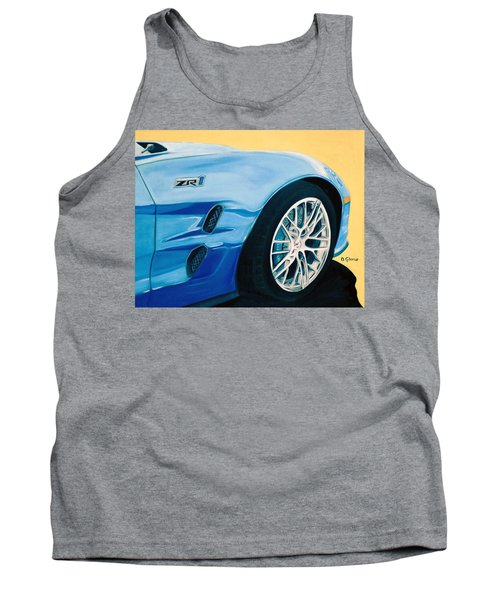 Zr1 Go Faster Tank Top