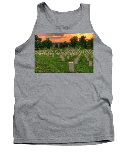 Arlington National Cemetery Sunrise Tank Top