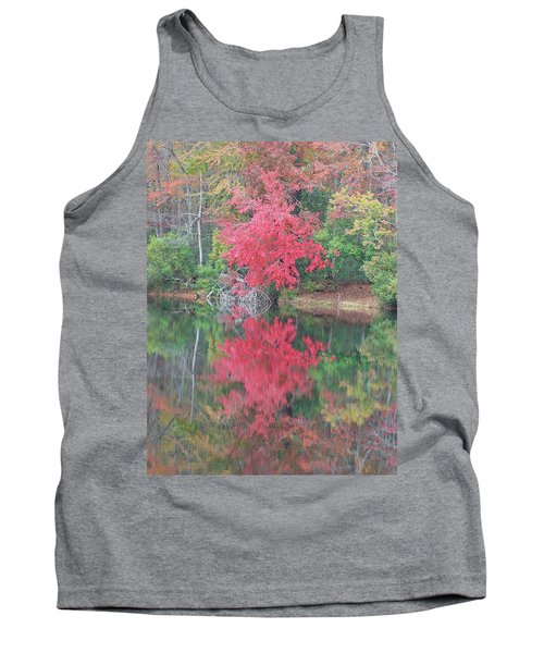 Autumn Pink Tank Top