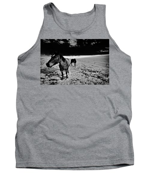 Tank Top featuring the photograph Horses On The Palouse by David Patterson