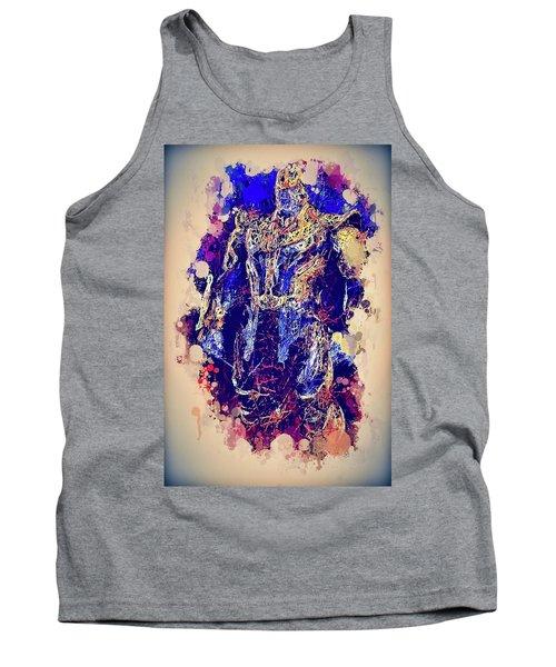 Thanos Watercolor Tank Top