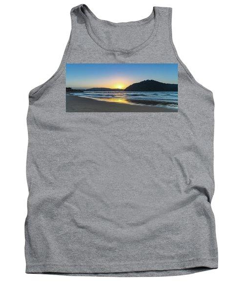 Hazy Sunrise Seascape Tank Top
