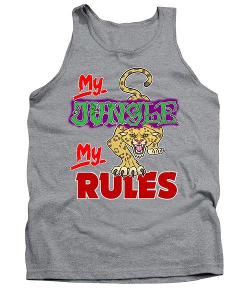 My Jungle My Rules Tank Top
