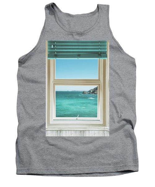 Window Overlooking The Ocean Tank Top