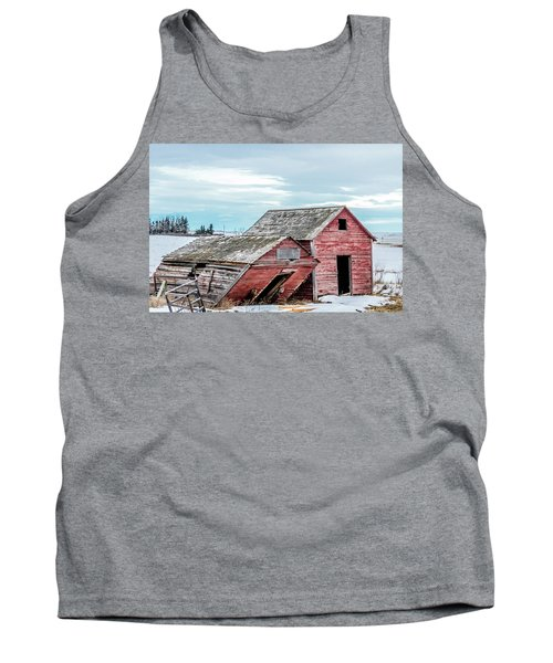 A Sign Of The Times, Run Diown Farm Out Buildings And Barns, Alb Tank Top