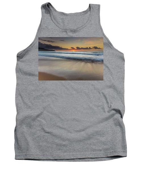 Sunrise Beach Seascape Tank Top
