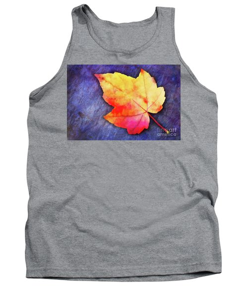 A Colorful Fall Memory Tank Top
