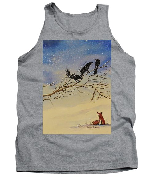 A Fox And His Cronies Tank Top