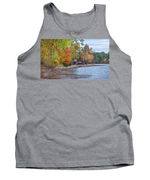 A Peaceful Place On An Autumn Day Tank Top