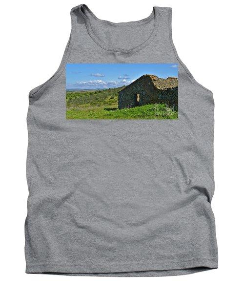 Abandoned Cottage In Alentejo Tank Top