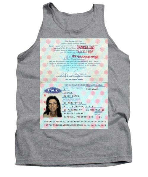Alice Cooper Passport 1997 Tank Top
