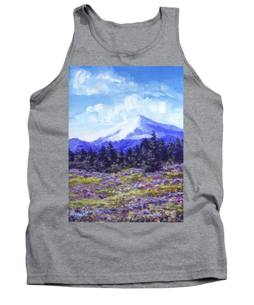 Alpine Meadow Sketch Tank Top