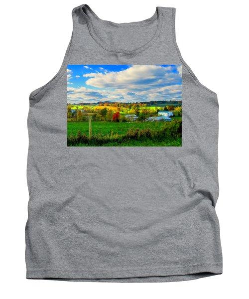 Amish Farm Beauty Tank Top