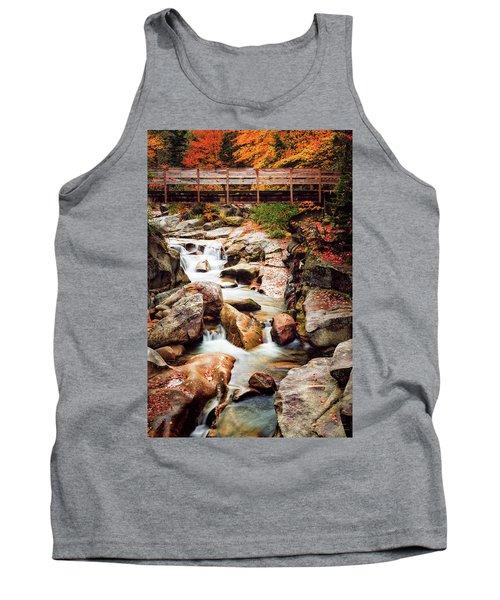 Ammonoosuc River, Autumn Tank Top