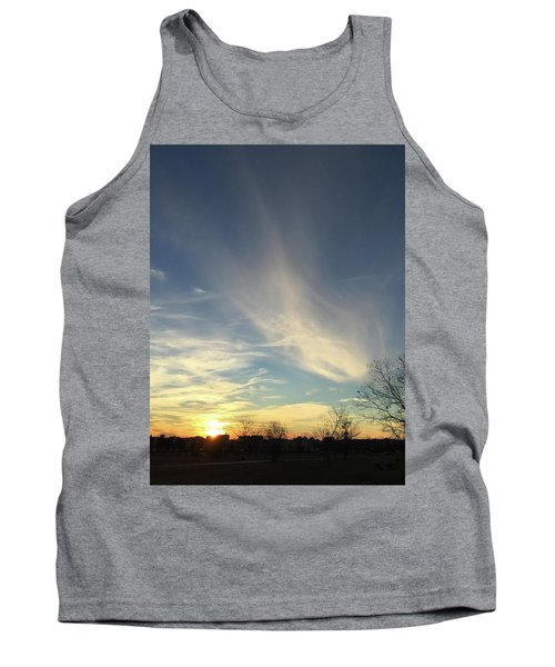 Angel Cloud Sunset Tank Top