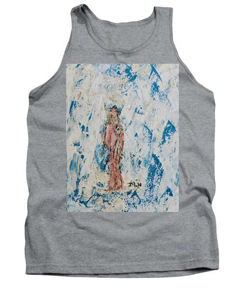 Angel With Her Pet Goat Tank Top