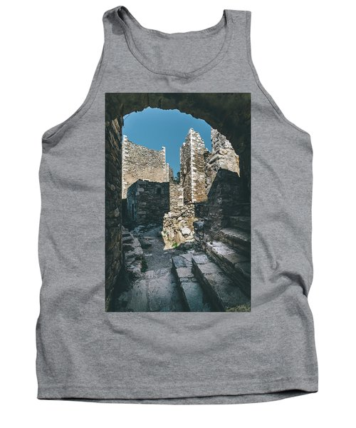 Architecture Of Old Vathia Settlement Tank Top