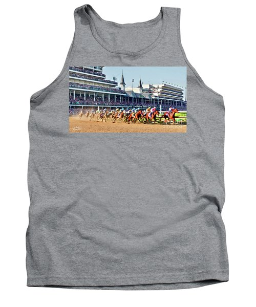 Around The First Turn Tank Top