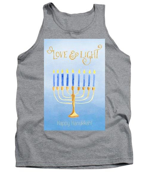 Love And Light For Hanukkah Tank Top