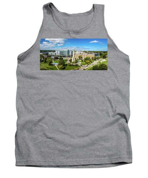 Tank Top featuring the photograph Ascension Columbia St. Mary's Hospital by Randy Scherkenbach