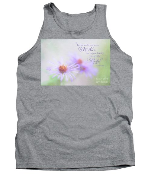 Asters For Mother's Day Tank Top