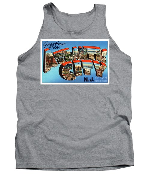 Atlantic City Greetings #3 Tank Top