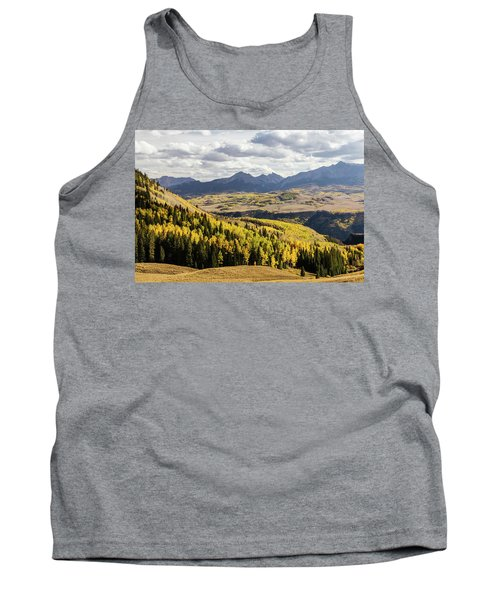 Tank Top featuring the photograph Autumn Season View Of Sneffles Ten Peak by James BO Insogna