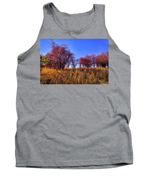 Tank Top featuring the photograph Autumn Sun by David Patterson