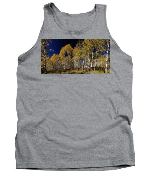 Tank Top featuring the photograph Autumn Walk In The Woods by James BO Insogna