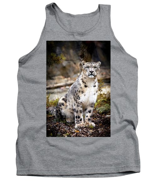 Autumnalleopard Tank Top