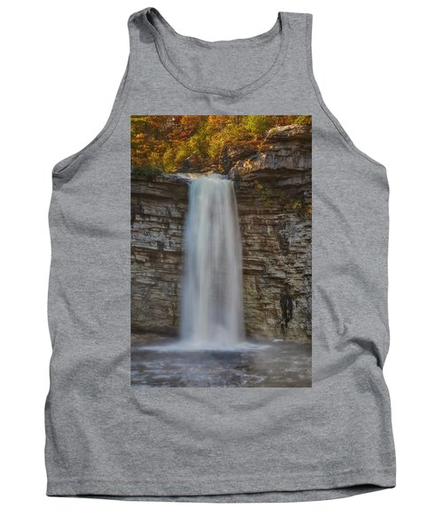 Tank Top featuring the photograph Awosting Water Falls Ny by Susan Candelario