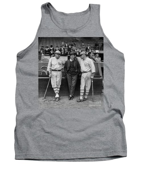 Babe Ruth And Jack Bentley 1923 Tank Top