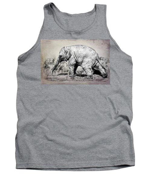 Baby Elephant Walk Tank Top
