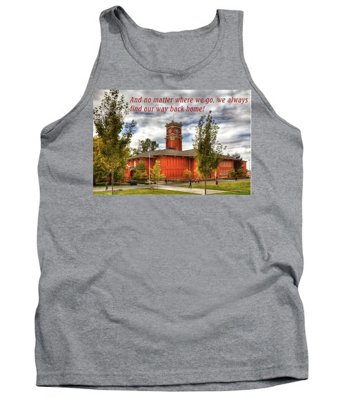 Tank Top featuring the photograph Back Home by David Patterson