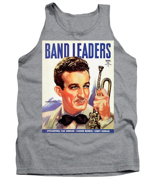 Band Leaders Harry James, 1931 Poster Tank Top
