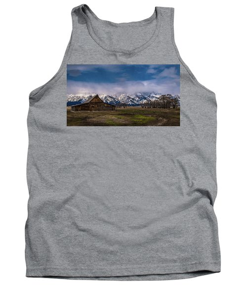 Barn At Mormon Row Tank Top