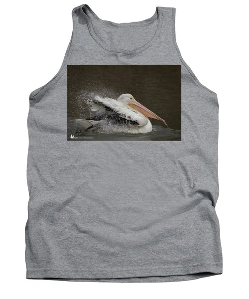 Bathing Pelican Tank Top