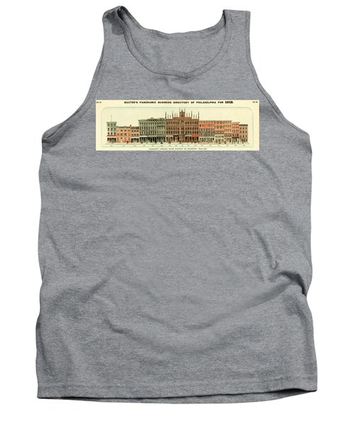 Baxter's Panoramic Business Directory Tank Top