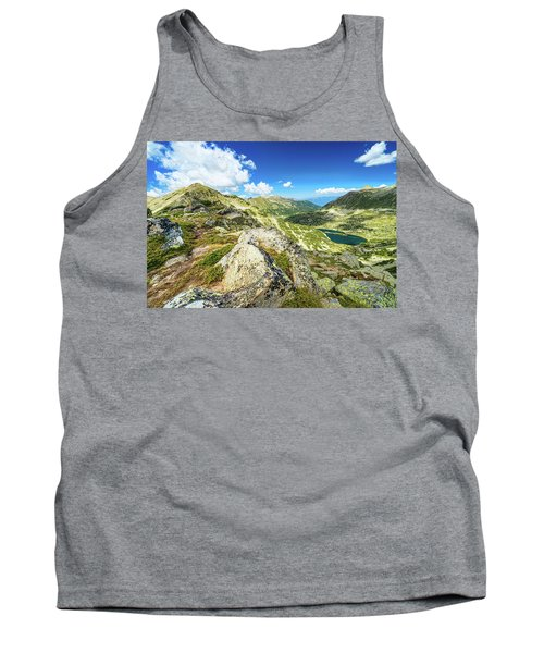 Beautiful Landscape Of Pirin Mountain Tank Top