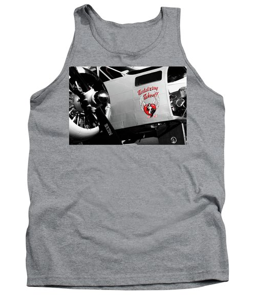 Beech At-11 In Selective Color Tank Top