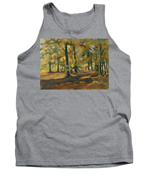 Beeches In Autumn Tank Top