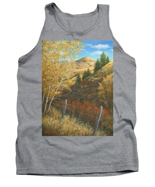 Belt Butte Autumn Tank Top