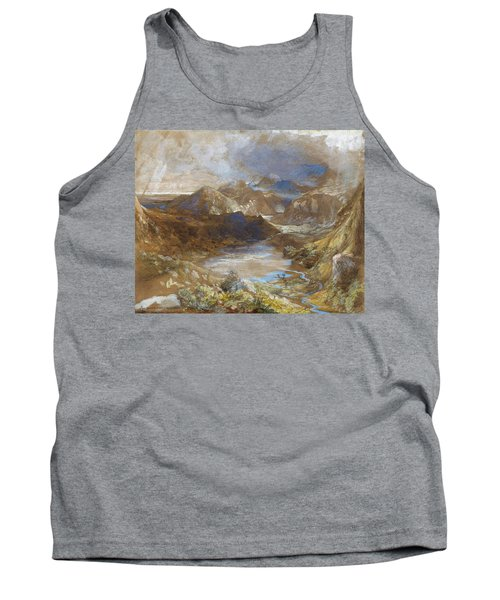 Between Capel Curig And Beddegelert, North Wales - Digital Remastered Edition Tank Top