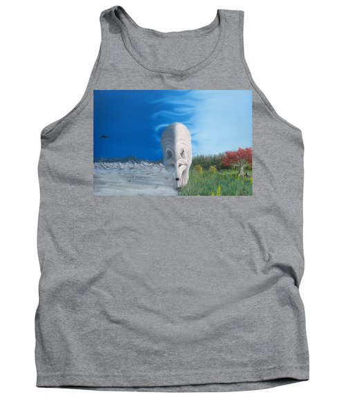 Tank Top featuring the painting Bring It On by Kevin Daly