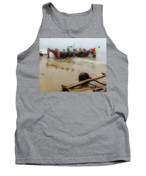 Bringing In The Catch Tank Top